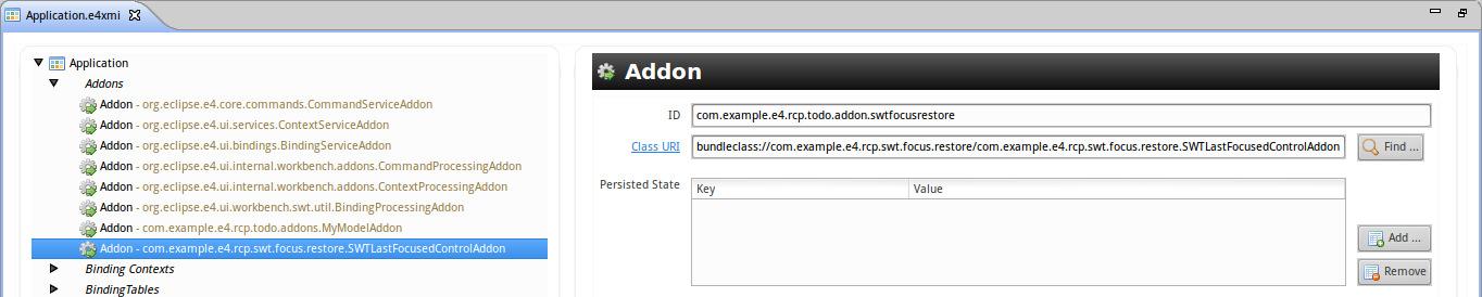 AddonRegistration